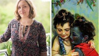 "Radhe Gendron: ""I Just Want to Keep Painting Krishna"""