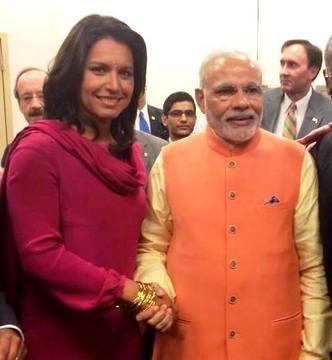 A devotee of Lord Krishna runs for the US presidency. (CNN) Rep