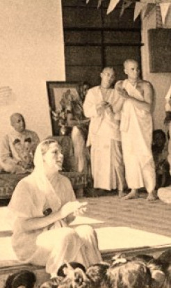 The one who startled India with kirtan