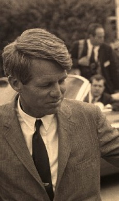 How Robert Kennedy heard the holy names shortly before departing this world