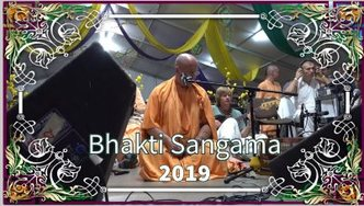 BHAKTI SANGAMA 2019 – Evening Kirtan led by Govinda Swami (video)