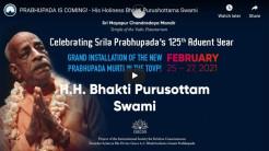 PRABHUPADA IS COMING! – H.H. Bhakti Purushottama Speaks Out
