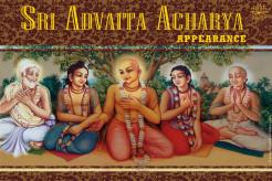 Appearance of Advaita Acarya