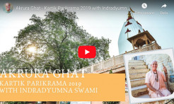 VIDEO - Akrura Ghat - Kartik Parikrama 2019 with Indradyumna Swami