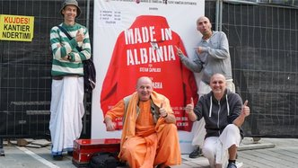 ISKCON Officially Registered in Albania for the First Time Ever