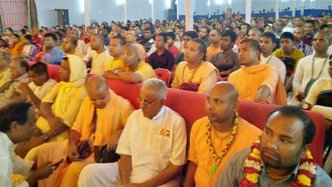 Record Number of Devotees at Gaura Katha in Chattogram, Bangladesh