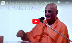 "VIEDO: ""The Only Hope for this World"": Presentation by Bhakti Charu Swami, at the ILS 2020 Seminar"