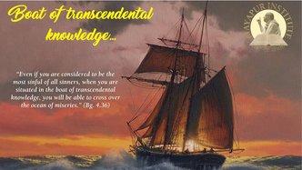 The Boat of Transcendental Knowledge
