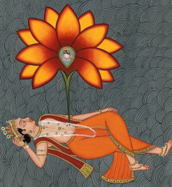O Brahma, whatever appears to be of any value, if it is without relation to Me, has no reality