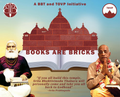 Announcing – The BBT/TOVP Books Are Bricks Campaign