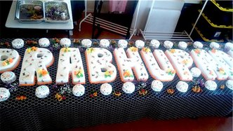 ISKCON Brisbane Offers Srila Prabhupada 26 Cakes For 26 Qualities