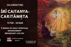 Celebrating Sri Caitanya-Caritamrita with the GBC Strategic Planning Team