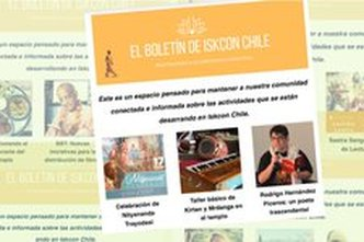 Connecting the Community: The Launching of the ISKCON Chile Newsletter