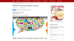 ISKCON Communications Course - Now Online!