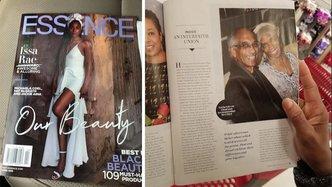 Interfaith Vaishnava and Muslim Couple Featured in Essence Magazine