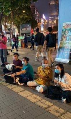 ISKCON Hong Kong-Sri Damodara Street Program 2020