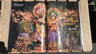 D Magazine Publishes 10-Page Feature on Deity Worship at ISKCON Dallas