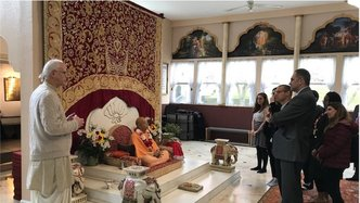 ISKCON of D.C. Receives Security Grant to Help Protect Temple
