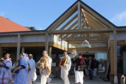 Deities Tour New Shree Krishna Haveli at Bhaktivedanta Manor