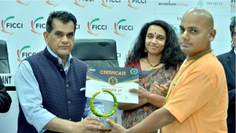 Govardhan Eco Village Receives the Indian Circular Economy Award 2019