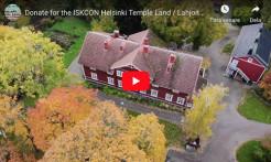 Help ISKCON Helsinki Secure Temple Land
