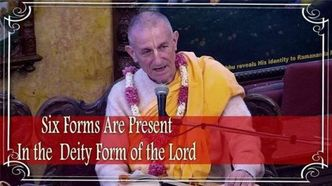 Six Forms Are Present In Deity Form of the Lord (video)