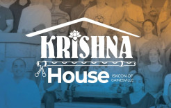 Krishna House in Gainesville, Florida, an outstanding model for making devotees and caring for them