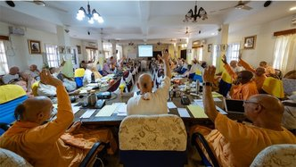March 11th GBC Meeting Features Report on Bhaktivedanta Research Centre