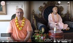 VIDEO - ISKCON GBC Chairman Ramai Swami Addresses Devotees During the COVID-19 Health Crisis