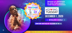 TOVP #GivingTuesday Fundraiser – December 1, 2020