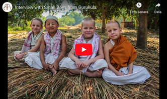 VIDEO - Interview with Small Boys from the Mayapur Gurukula