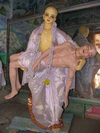 Srila Haridasa Thakura Samadhi