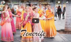 VIDEO – Harinam-Sankirtan Tour, January 2020 (Tenerife, Spain)