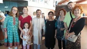 ISKCON Bosnia-Herzegovina Celebrates International Yoga Day with Maha Mantra