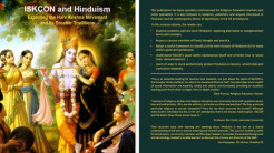 New Educational Booklet Explores ISKCON and Hinduism