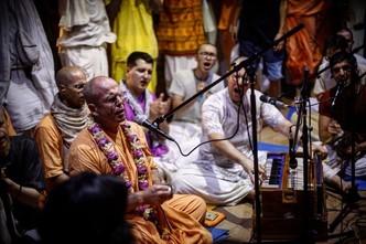 """Walk through fire"" by HH Bhakti Bhringa Govinda Swami"