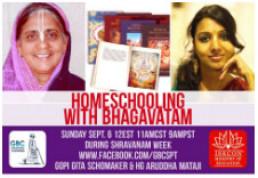 Homeschooling with Bhagavatam