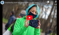 VIDEO - ISKCON Hungary Distributes Free Food and Face Masks to the Needy