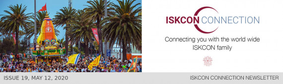 ISKCON Connection Newsletter, Issue 18, May 3, 2020