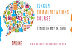 ISKCON Communications Course Offered Online