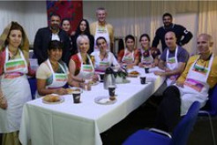 Istanbul Govinda Caters for Canadian Rock Star Bryan Adams and His Concert Crew