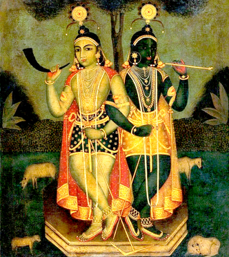 The names of Krishna's Personal Paraphernalia by Srila Rupa Goswami