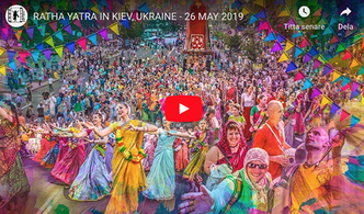 VIDEO - Ratha Yatra in Kiev Ukraine