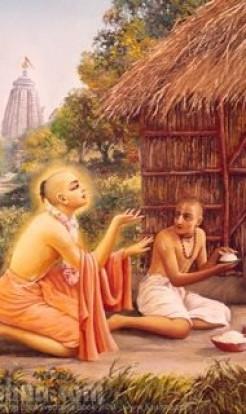 Srila Raghunatha dasa Gosvami and Sri Radha-Kundastakam