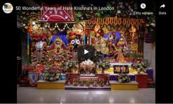VIDEO – 50 Wonderful Years of Hare Krishna's in London