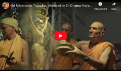 VIDEO – Sri Nityananda Trayodasi Abhishek in Sri Dhama Mayapur