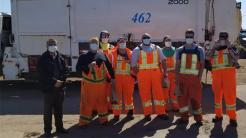 Ontario Devotees Distribute Prasad to Hospital Staff and Sanitation Workers