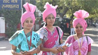 Amravati Witnesses First ISKCON Vaishnavi Padayatra