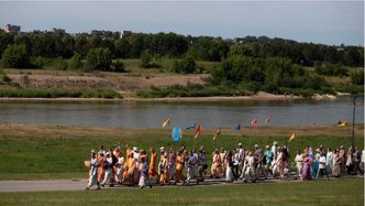 Padayatra Spreads Holy Names Throughout Lithuania