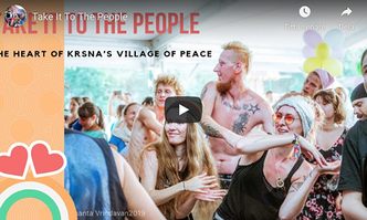 "VIDEO - Take It To The People: The Mantra Yoga Tent at the ""Polish Woodstock"" Festival"